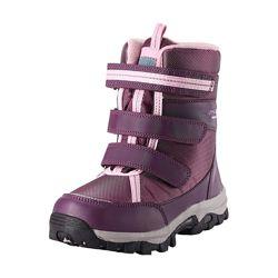 Ботинки зимние Lassie фиолетовые на искуственном меху с мембраной Артикул 6416134530384