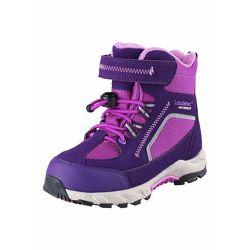 Сапоги темно-фиолетовые Lassie  на искуственном меху Артикул 6416134979671