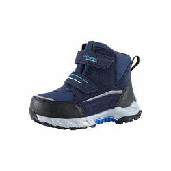 Ботинки синие Lassie Valiant на искуственном меху для мальчика Артикул 6438429243069