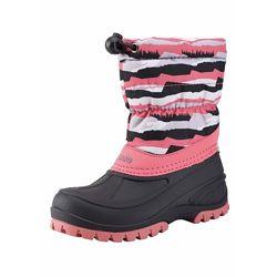 Сапоги  Lassie Tundra розовые на искуственном меху для девочки Артикул 6438429244998