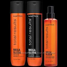 Matrix Total results Mega Sleek - догляд для неслухняного волосся