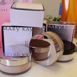 100 хит-Минеральная пудра Mary Kay, мери кей наличие
