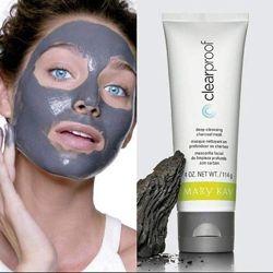 Угольная очищающая маска для всех типов, большой обьем Мери кей, mary kay