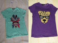 Две футболки французского бренда Jean Louis Scherrer Kids 10 лет, 140 см