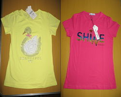 Две яркие футболки, 12 лет