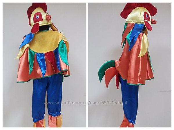 продам костюм петуха, р. 116-128см