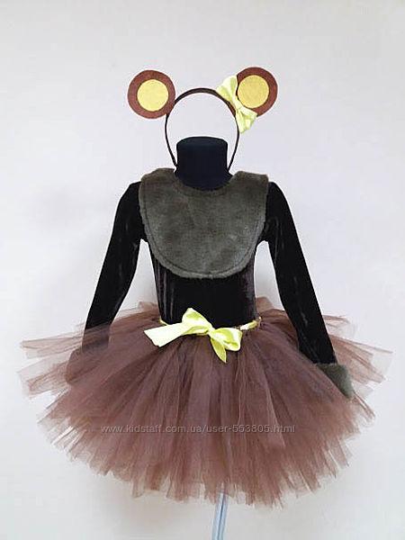 Продам костюм медведица, 4-8 лет