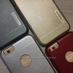 Фирменный противоударный чехол для iphone 6 6S Мотомо в упаковке