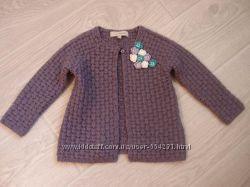 Теплая кофточка кардиган для девочки 1. 5-2 года rocha little rocha