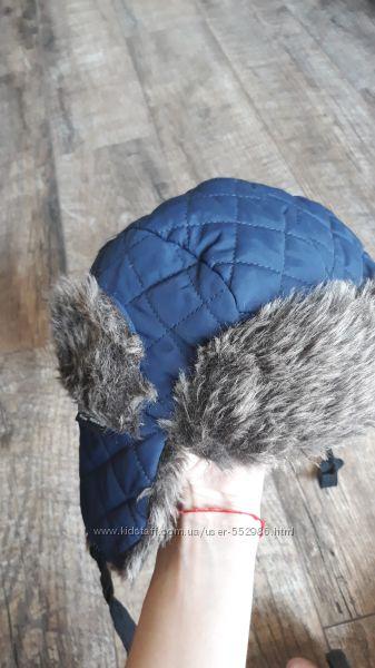 зимняя шапка F&F в хорошем состоянии