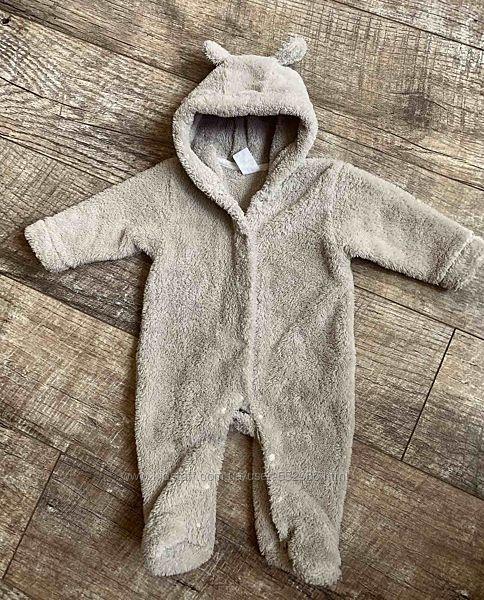 Комбинезон Мишка 3-6 месяцев идеальное состояние