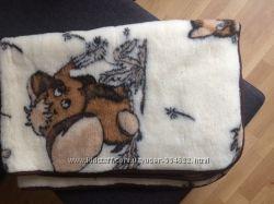 Продам детское шерстяное одеяло польской фирмы MAGMA