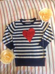 Нарядные свитера Crazy8 Next H&M на возраст 4-5 лет и на 6-7 лет