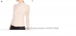 Кружевная блуза пудрового цвета V By Very Англия