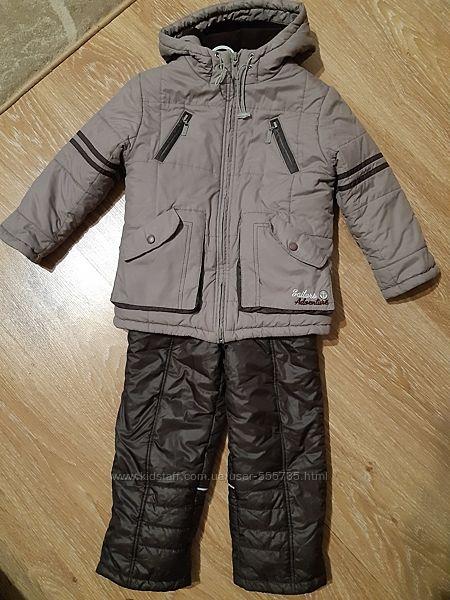 Зимний костюм куртка полукомбинезон Бемби 104