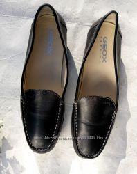 Туфли балетки мокасины Geox из мягкой натуральной кожи р. 37, 5 новые сток