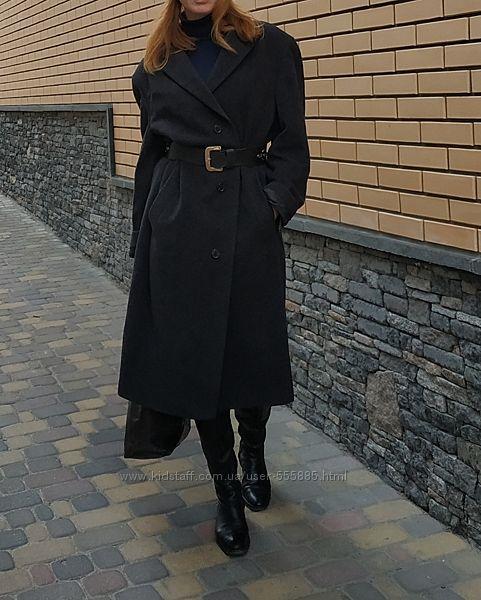 HUGO BOSS Эксклюзивное, премиальное пальто  бойфренд в мужском стиле