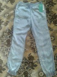 Суперлегкие брюки-султанки из  лиоцелла, H&M, размер 134