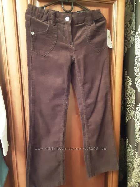 Вельветовые брюки Паломино, размер 122