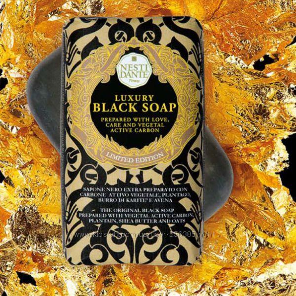 Новинка ТМ Nesti Dante Роскошное черное мыло