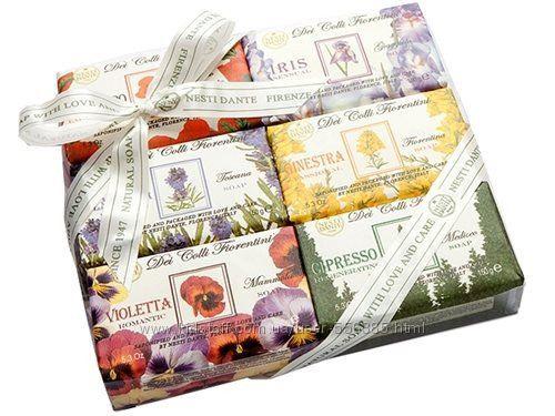 Итальянское мыло  NESTI DANTE подарочные наборы