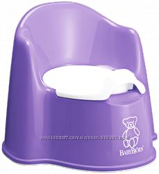 Кресло-горшок BabyBjorn фиолетовый