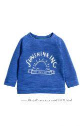 Стильный свитер H&M. Размер 12-18 мес.