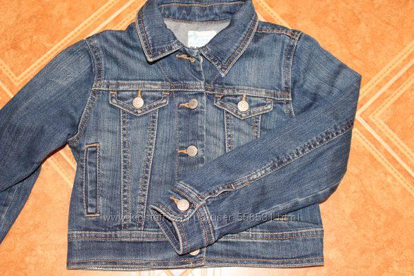 Стильный джинсовый пиджак Old Navy. Размер XS, 5-6 лет.
