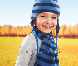 Флисовый комплект шапка и шарф Tchibo.