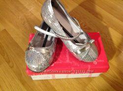 Серебряные туфельки Centro. Размер 27. Состояние новых.