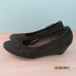 удобные туфли на танкетке на узкую ногу