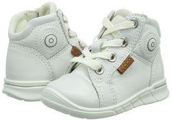 Кожаные ботинки хайтопы экко ecco first Новые р. 22 Индонезия Оригинал
