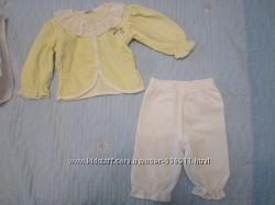Костюмчик на новорожденную девочку, размер 50