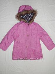 Демисезонная сиреневая куртка Tik Tak на девочку 6 лет. Рост 116 см.