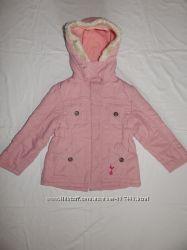 Демисезонная нежно-розовая куртка Tottenham Hotspur на девочку 5-6 лет. Рос