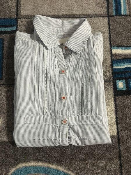 Очень классная рубашка H&M на 9-10 лет