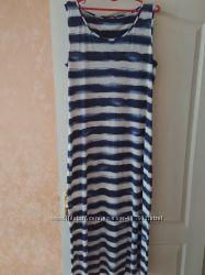 Платье майка сарафан морское длинное на 50-54 от Marks & Spencer