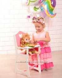 Кукольный стульчик для кормления куклы типа Baby Born