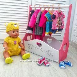 Гардероб для куколки типа Бэби Борн
