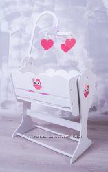 Кроватка-люлька для Беби Борн Совушки