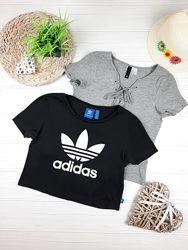 Футболки Adidas и H&M 12 - 14 лет, 152 - 164 см.
