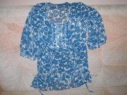 Блуза туника шифон р. 44 -46  М