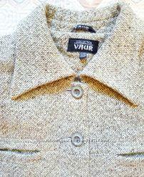 Пальто шерстяное размер 46