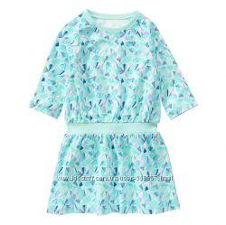 Платье Crazy8 уплотнённый трикотаж, размер 7-8 на  рост 122-137 см