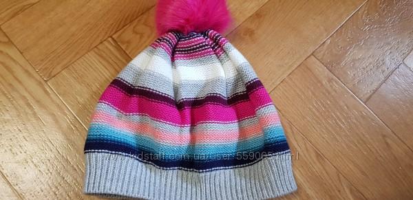 Деми шапочка gymboree 7-8 лет на ог до 55 см- новая
