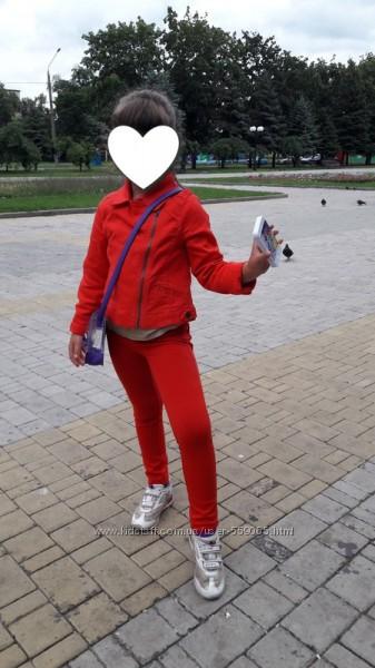 Классная курточка- косуха от crazy8 на 7-9 лет