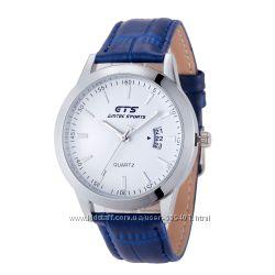 Стильные мужские часы GTS с функцией дата