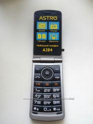 Мобильный Astro A284 Black в отличном состоянии