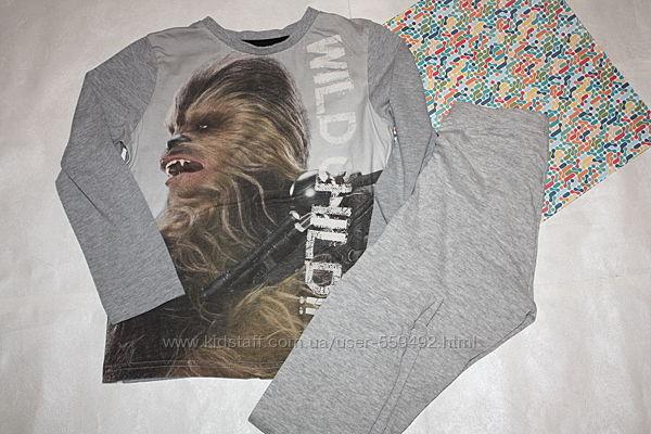 Пижама котоновая Star Wars мальчику 6/7 лет, р-122, хорошее