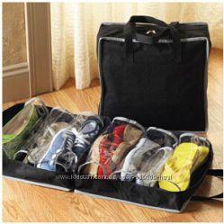 Сумка - органайзер для обуви Shoe Tote цвет черный